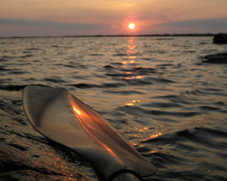 Lake Nipigon sea kayaking