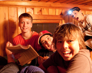 In your cabin is where friendships are made and batteries are recharged.