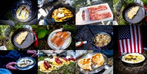 trail food collage